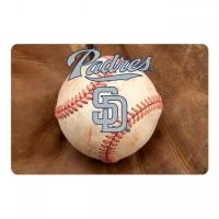 San Diego Padres Pet Bowl Mat