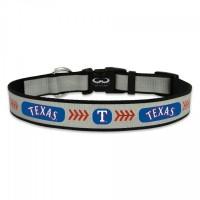 Texas Rangers Reflective Pet Collar