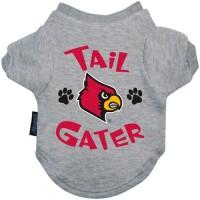 Louisville Cardinals Tail Gater Pet Tee Shirt