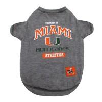 Miami Hurricanes Pet Tee Shirt