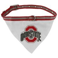 Ohio State Dog Collar Bandana