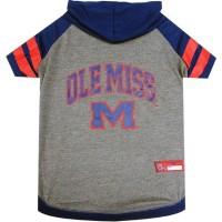 Ole Miss Rebels Pet Hoodie T-Shirt