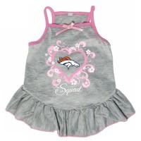 """Denver Broncos """"Too Cute Squad"""" Pet Dress"""