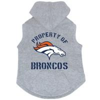 Denver Broncos Pet Hoodie Sweatshirt #1