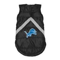 Detroit Lions Pet Puffer Vest