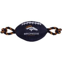 Denver Broncos Pet Nylon Football