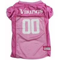Minnesota Vikings Pink Pet Jersey