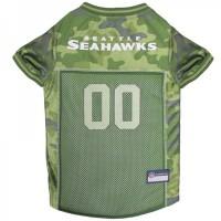Seattle Seahawks Pet Camo Jersey