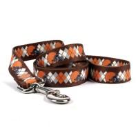 Cleveland Browns Argyle Nylon Pet Leash