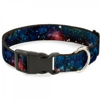 Buckle-Down Space Dust Collage Pet Collar