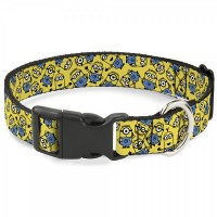 Buckle-Down Minions Scattered Yellow Pet Collar