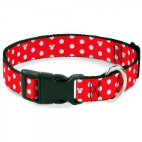 Buckle-Down Minnie Mouse Polka Dot Pet Collar
