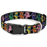 Buckle-Down Grateful Dead Dancing Bears Pet Collar