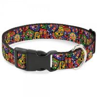 Buckle-Down Thaneeya Colorful Calaveras Pet Collar