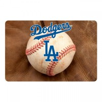 Los Angeles Dodgers Pet Bowl Mat
