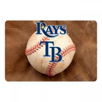 Tampa Bay Rays Pet Bowl Mat