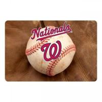 Washington Nationals Pet Bowl Mat