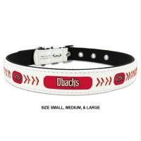 Arizona Diamondbacks Classic Leather Baseball Pet Collar