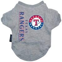 Texas Rangers Dog Tee Shirt