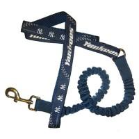 New York Yankees Bungee Ribbon Pet Leash