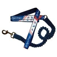 Los Angeles Dodgers Bungee Ribbon Pet Leash