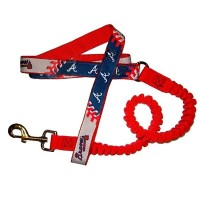 Atlanta Braves Bungee Ribbon Pet Leash