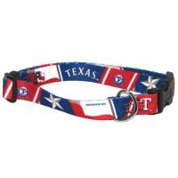 Texas Rangers Pet Collar
