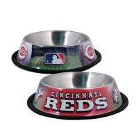 Cincinnati Reds Dog Bowl