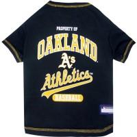 Oakland A's Green Pet T-Shirt