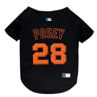 Buster Posey #28 Pet Jersey