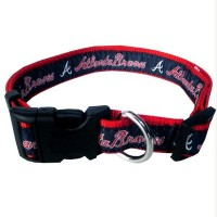 Atlanta Braves Pet Collar By Pets First