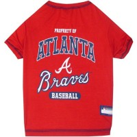 Atlanta Braves Pet T-shirt