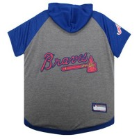 Atlanta Braves Pet Hoodie T-Shirt