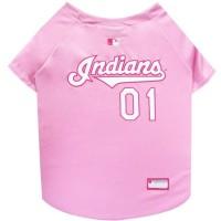 Cleveland Indians Pink Pet Jersey