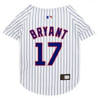 Kris Bryant #17 Pet Jersey