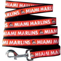 Miami Marlins Pet Leash By Pets First