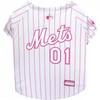 New York Mets Pink Pet Jersey