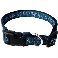 Seattle Mariners Pet Collar By Pets First