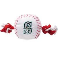 Seattle Mariners Nylon Baseball Rope Tug Dog Toy