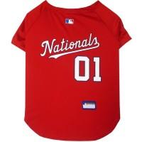 Washington Nationals Pet Jersey #1