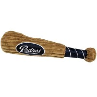 San Diego Padres Plush Baseball Bat Toy
