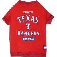 Texas Rangers Pet T-Shirt