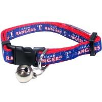 Texas Rangers Breakaway Cat Collar
