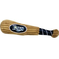 Tampa Bay Rays Plush Baseball Bat Toy
