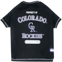 Colorado Rockies Pet T-shirt
