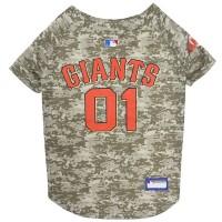 San Francisco Giants Pet Camo Jersey