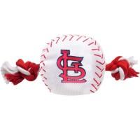 St. Louis Cardinals Nylon Baseball Rope Tug Dog Toy