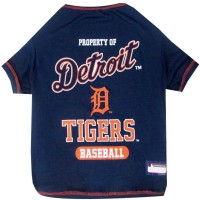 Detroit Tigers Pet T-Shirt #1