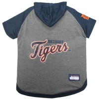Detroit Tigers Pet Hoodie T-Shirt