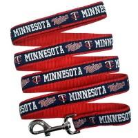 Minnesota Twins Blue Pet Leash By Pets First